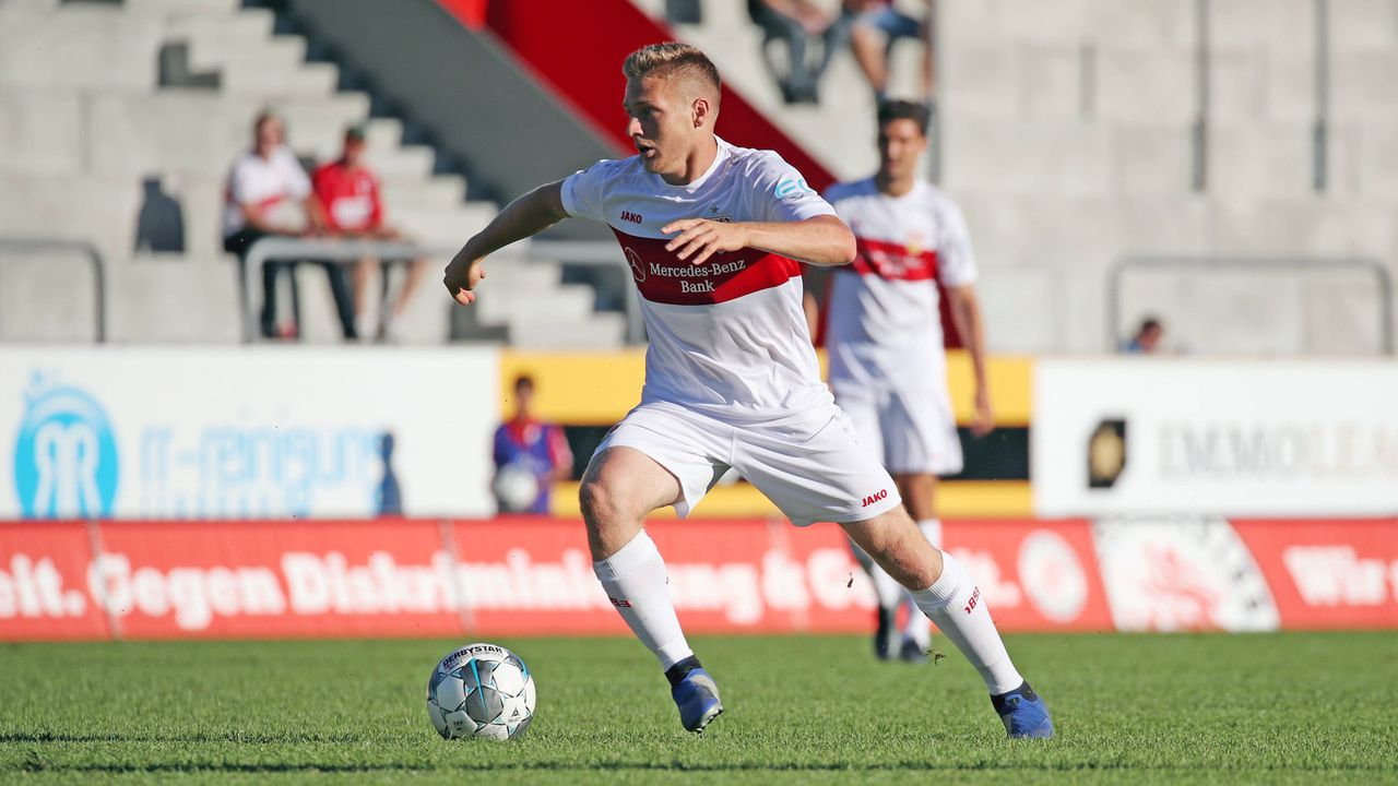 Mittelfeld - Santiago Ascacibar (VfB Stuttgart) - Bildquelle: imago images / Sportfoto Rudel