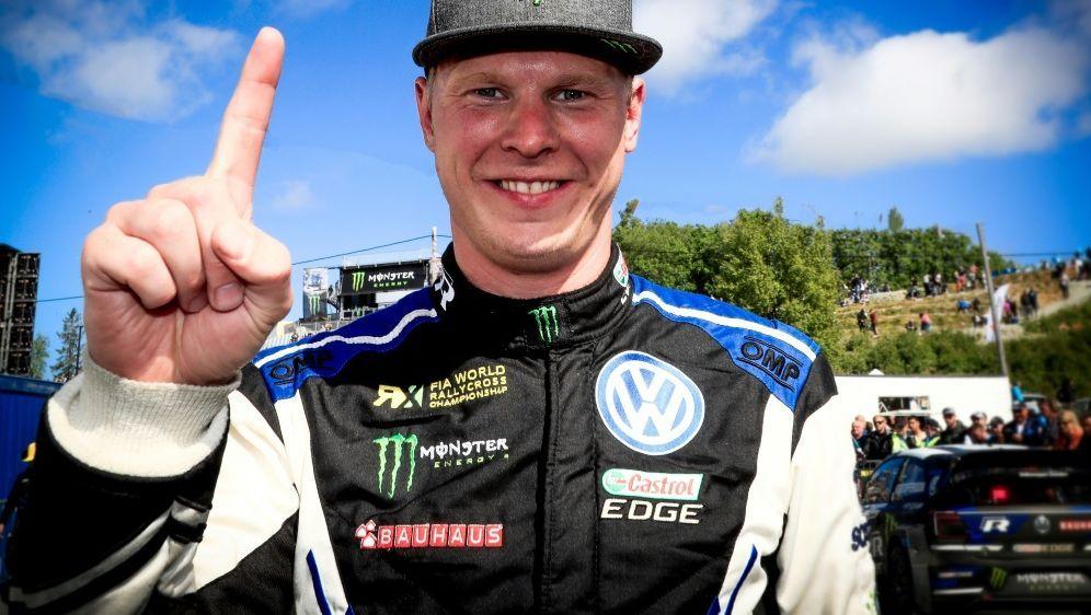 Johan Kristoffersson konnte seinen achten Sieg feiern - Bildquelle: PIXATHLONPIXATHLONSID