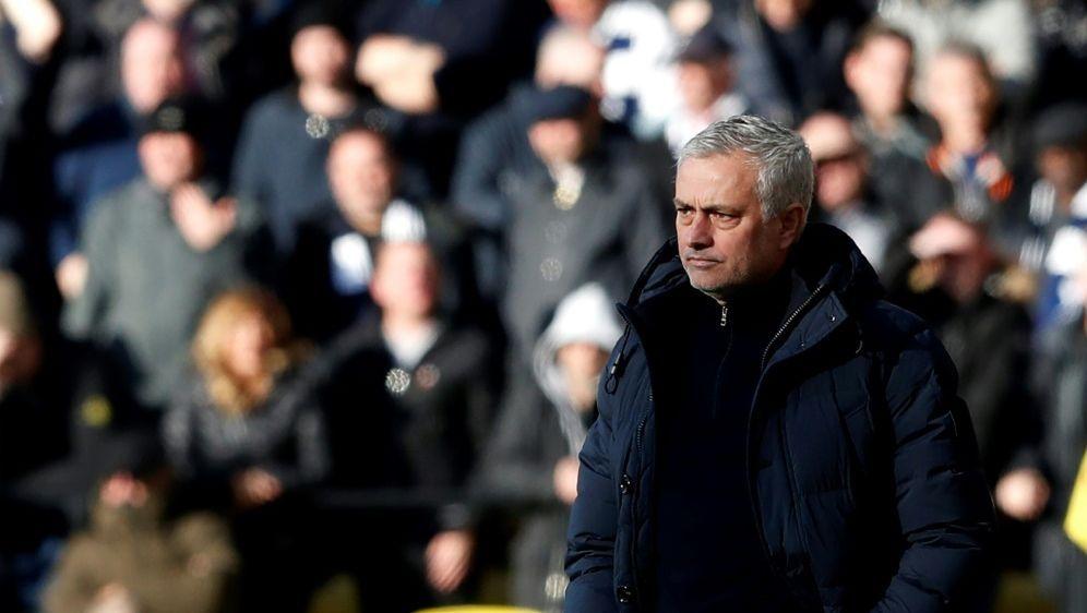 Schon wieder kein Sieg für Jose Mourinho - Bildquelle: AFPSIDAdrian DENNIS