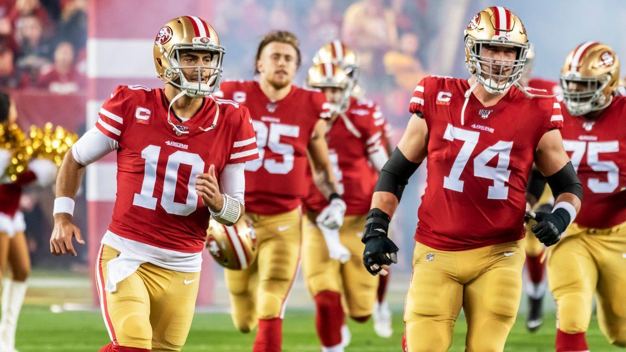 Platz 3: San Francisco 49ers (13-3, letzte Woche Platz 3) - Bildquelle: imago images/Icon SMI