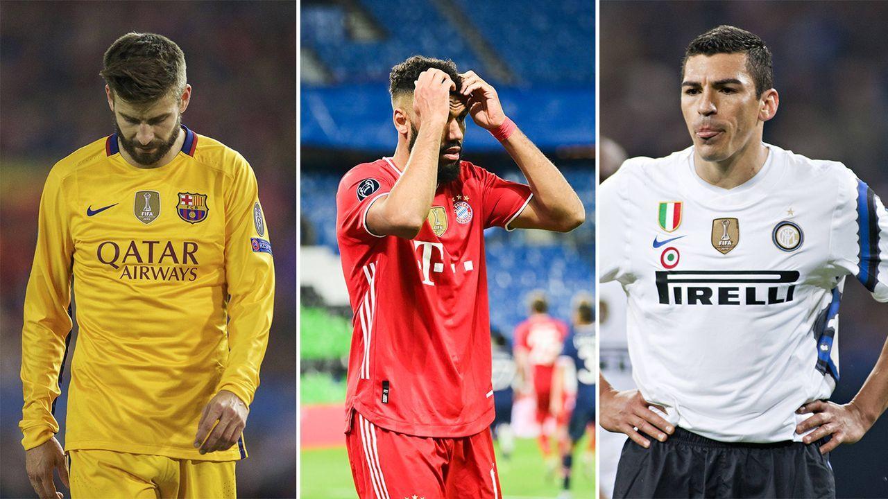 Bayern-Traum endet im Viertelfinale: So erging es den anderen Triple-Siegern - Bildquelle: Imago Images