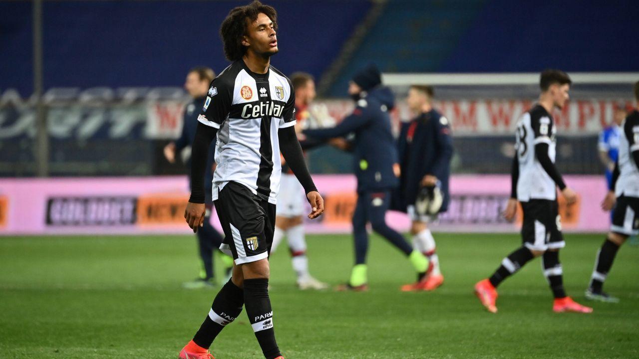 Joshua Zirkzee (FC Parma) - Bildquelle: Imago