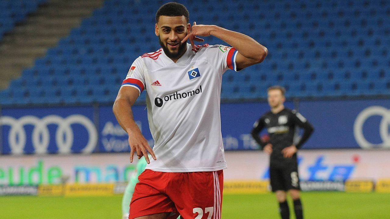 RV: Josha Vagnoman (Hamburger SV) - Bildquelle: Imago Images