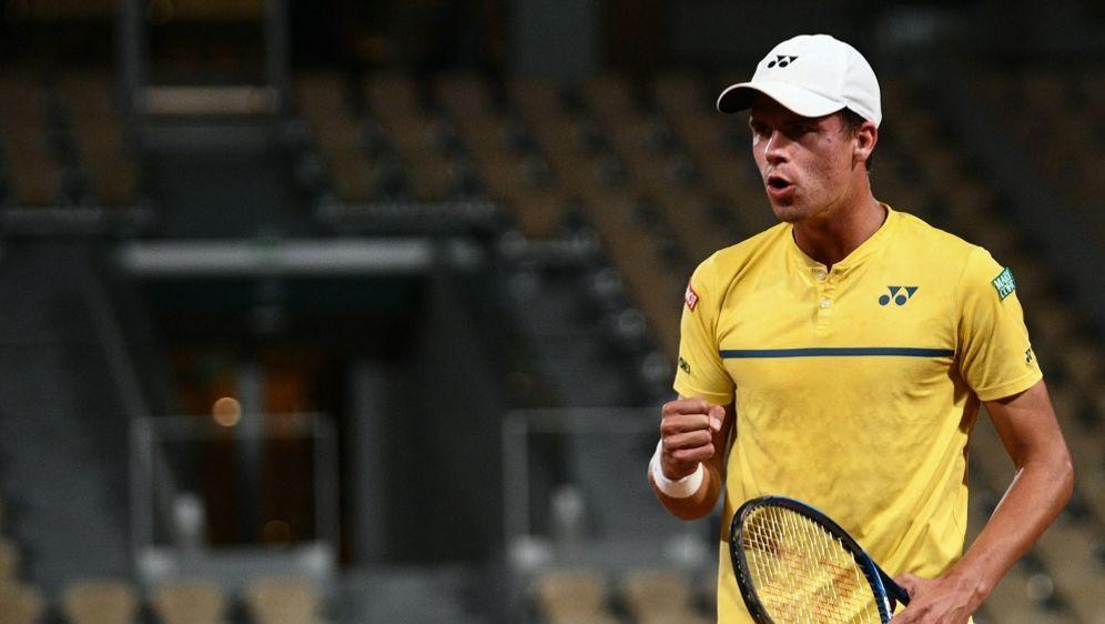 Tennis: Daniel Altmaier bleibt auf dem Erfolgspfad - Bildquelle: AFPSIDMARTIN BUREAU