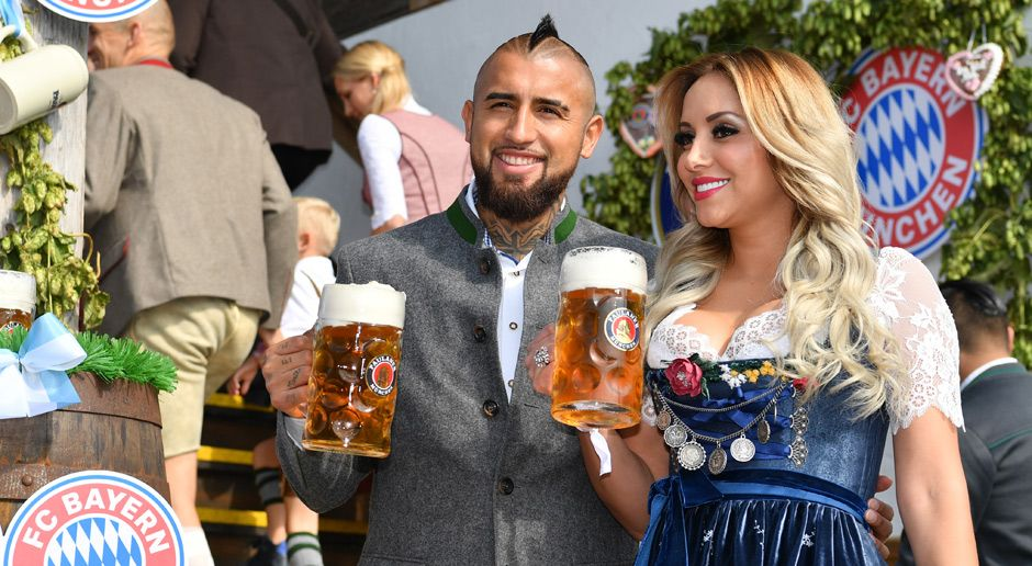 Arturo Vidal - Bildquelle: 2017 Getty Images For Paulaner