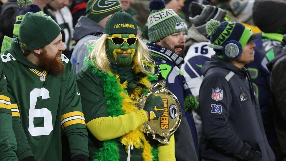 Ein Fan im Lambeau Field war nicht zu überhören. - Bildquelle: imago images/Icon SMI
