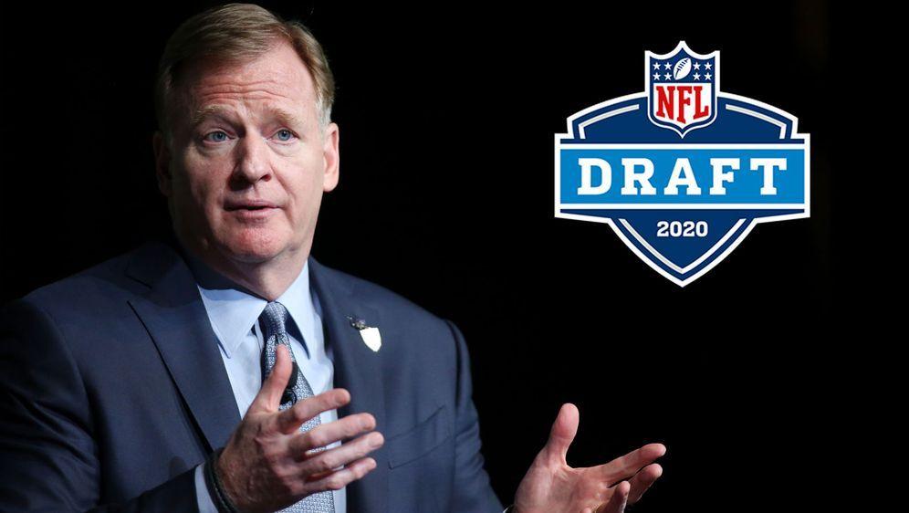 Steht vor ungeahnten Schwierigkeiten in der Coronakrise: NFL-Boss Roger Good... - Bildquelle: Getty Images