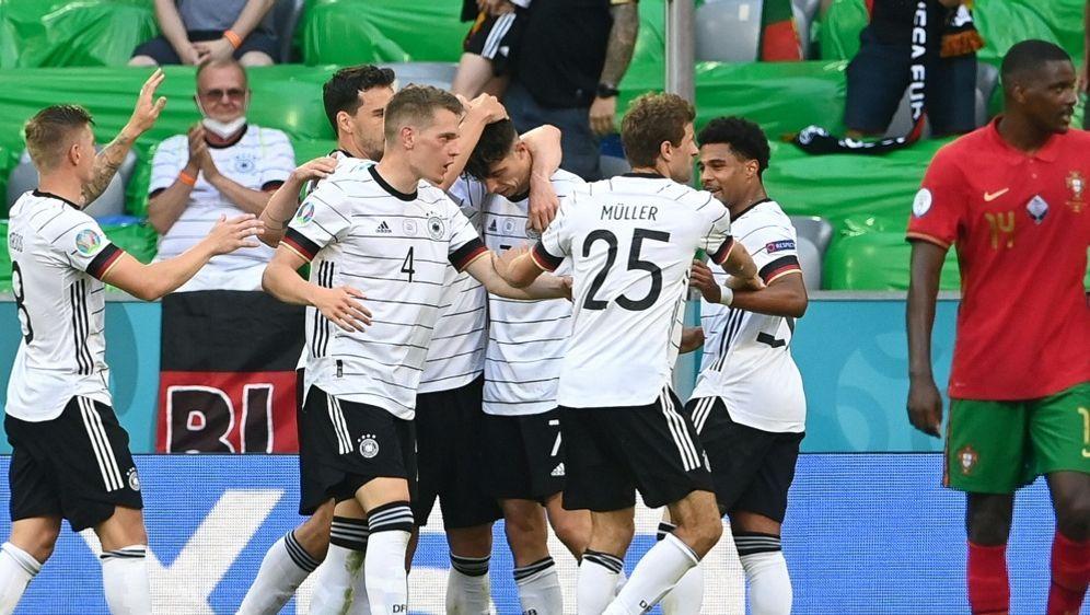 Das DFB-Team hat die 300-Tore-Marke geknackt - Bildquelle: AFPPOOLSIDCHRISTOF STACHE