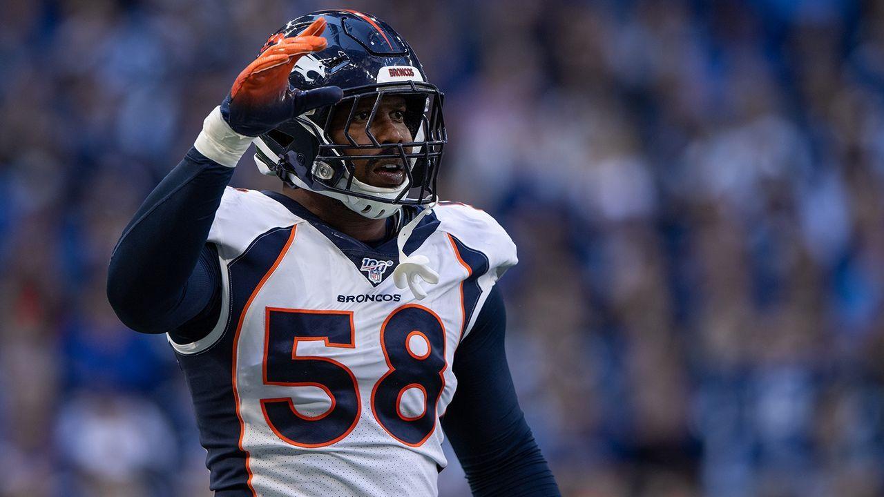 Platz 13: Von Miller (Denver Broncos) - Bildquelle: Imago Images
