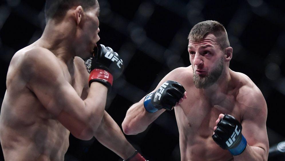 Zweite UFC-Schlappe: David Zawada. - Bildquelle: imago/Imaginechina