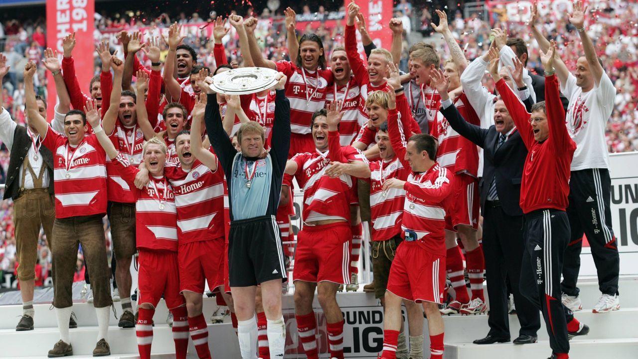 Immer die Bayern  - Bildquelle: imago/Sammy Minkoff
