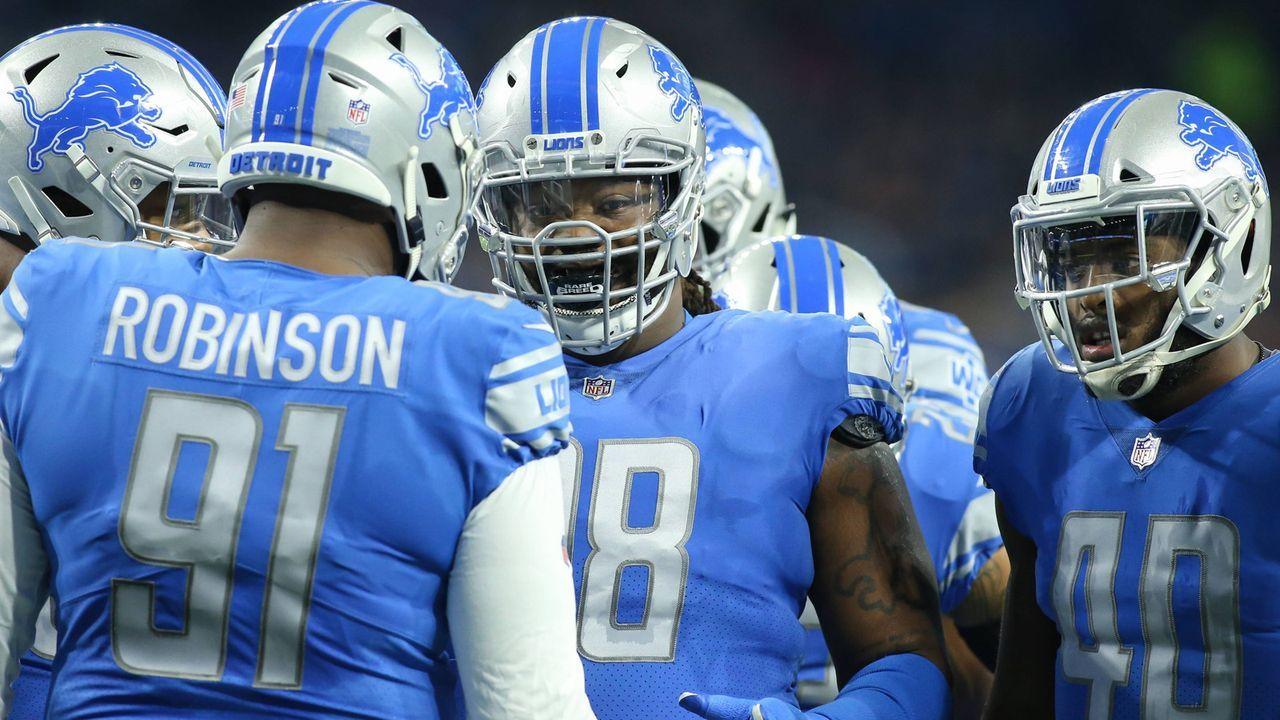 Platz 23: Detroit Lions - Bildquelle: 2016 Getty Images