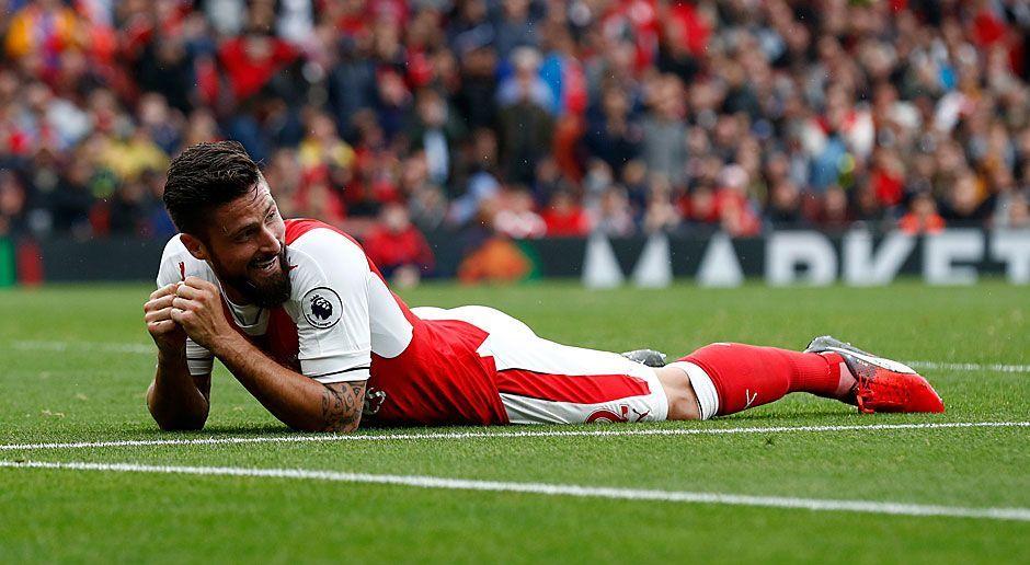Mittelstürmer: Olivier Giroud (FC Arsenal) - Bildquelle: 2016 Getty Images