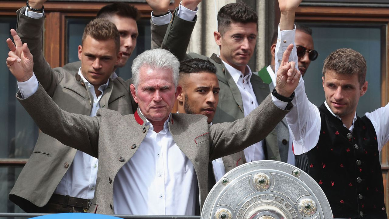 Platz 8: Jupp Heynckes (Ruhestand) - Bildquelle: 2018 Getty Images