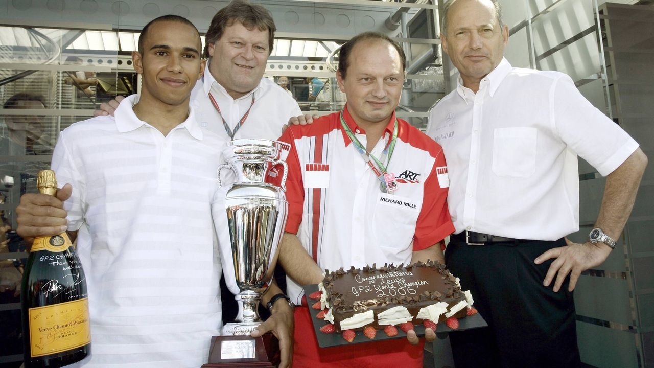 2006: Lewis Hamilton - Bildquelle: imago/HochZwei