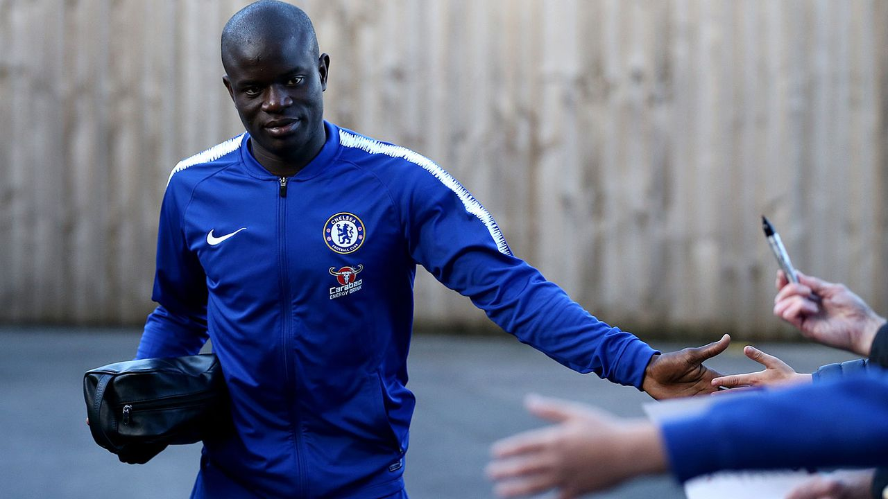 Zentraler Mittelfeldspieler: N'Golo Kante - Bildquelle: 2018 Getty Images