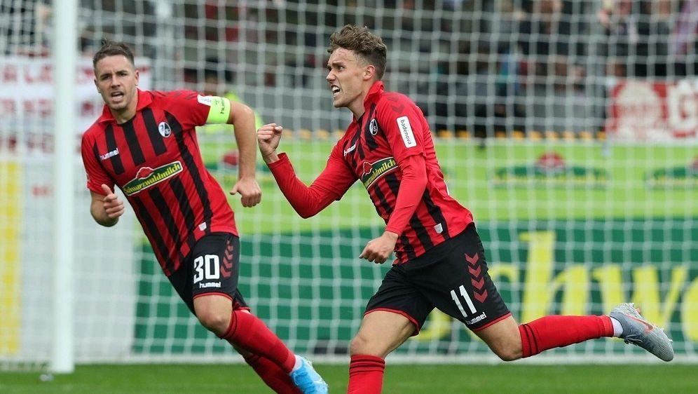 Waldschmidt schießt Freiburg zum Sieg gegen Hoffenheim - Bildquelle: FIROFIROSID