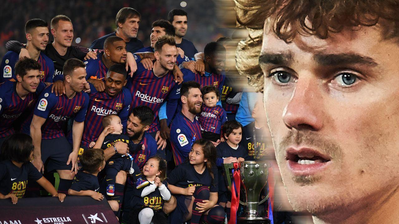 Antoine Griezmann (Atletico Madrid) - Bildquelle: 2019 Getty Images