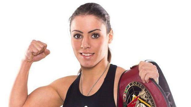 Kickbox Weltmeisterin