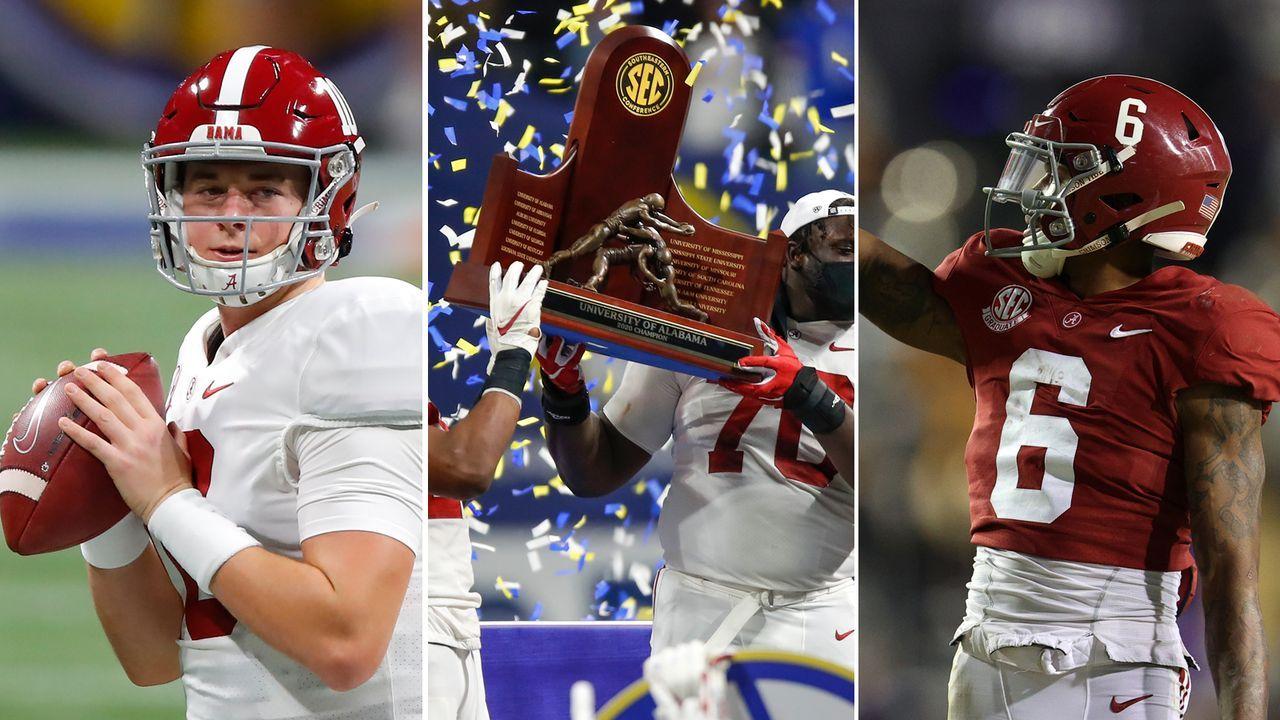 Alabama: Das erfolgsverwöhnte Team aus Tuscaloosa - Bildquelle: Getty Images