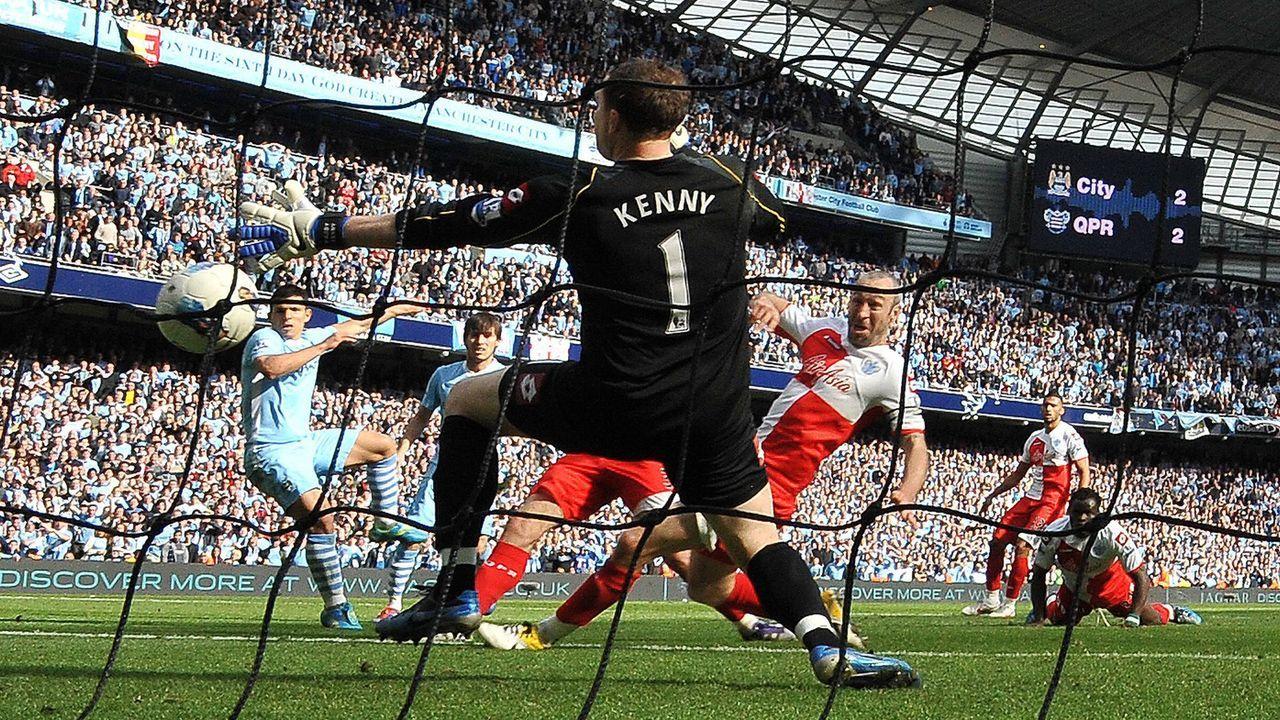 Sergio Agüero (Manchester City) - Bildquelle: imago sportfotodienst