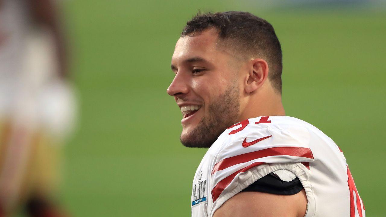 Platz 9: Nick Bosa (San Francisco 49ers) - Bildquelle: 2020 Getty Images
