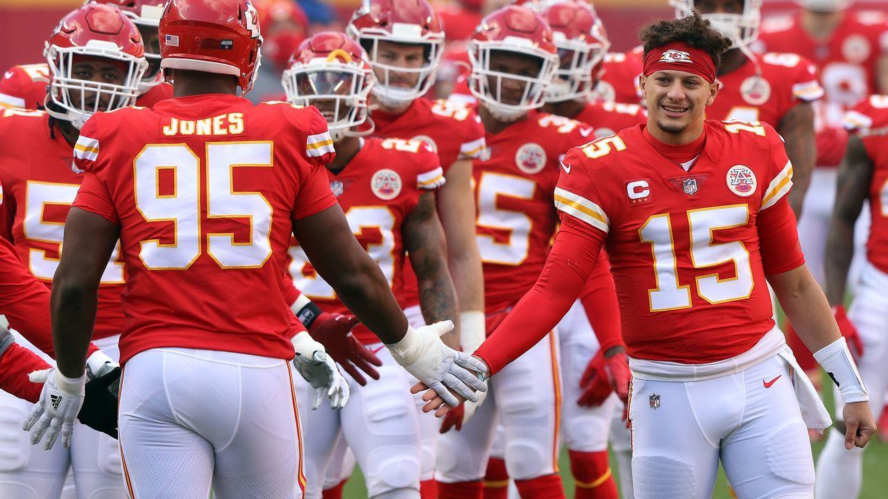 Platz 1: Kansas City Chiefs - Bildquelle: 2021 Getty Images