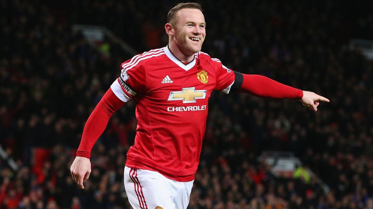Angriff: Wayne Rooney - Bildquelle: 2016 Getty Images