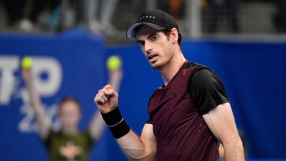 Erster Titel seit März 2017 für Andy Murray - Bildquelle: imago