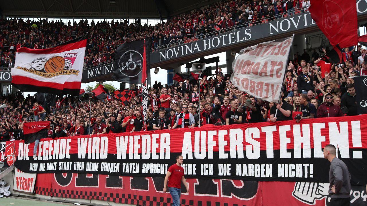 Platz 3: 1. FC Nürnberg - Bildquelle: imago