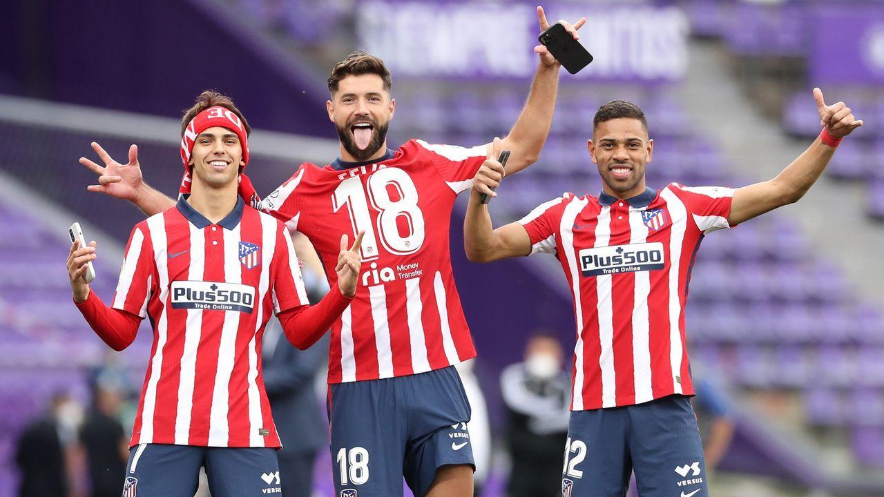 Platz 11 - Atletico Madrid (Spanien) - Bildquelle: 2021 Getty Images