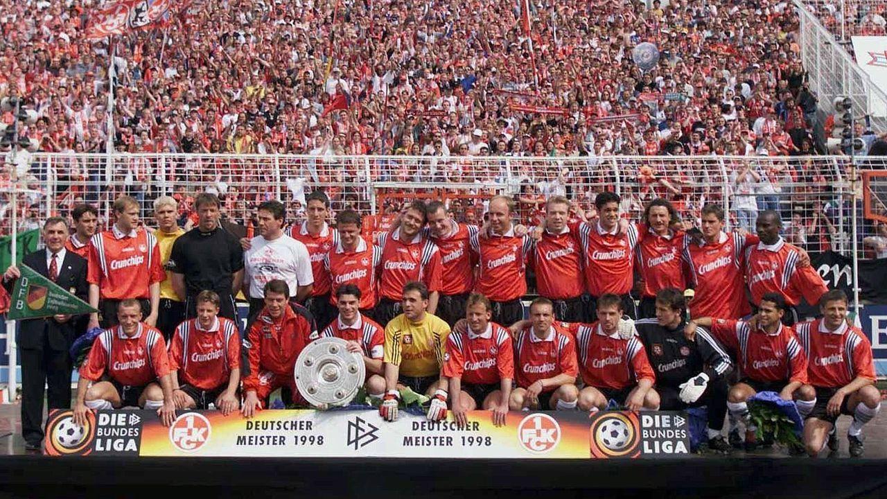 Vier deutsche Bundesliga-Meisterschaften - Bildquelle: Bongarts