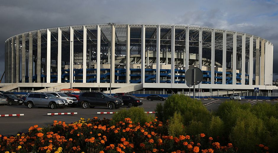 7. Nischni-Nowgorod-Stadion (Nischni Nowgorod) - Bildquelle: imago/ITAR-TASS