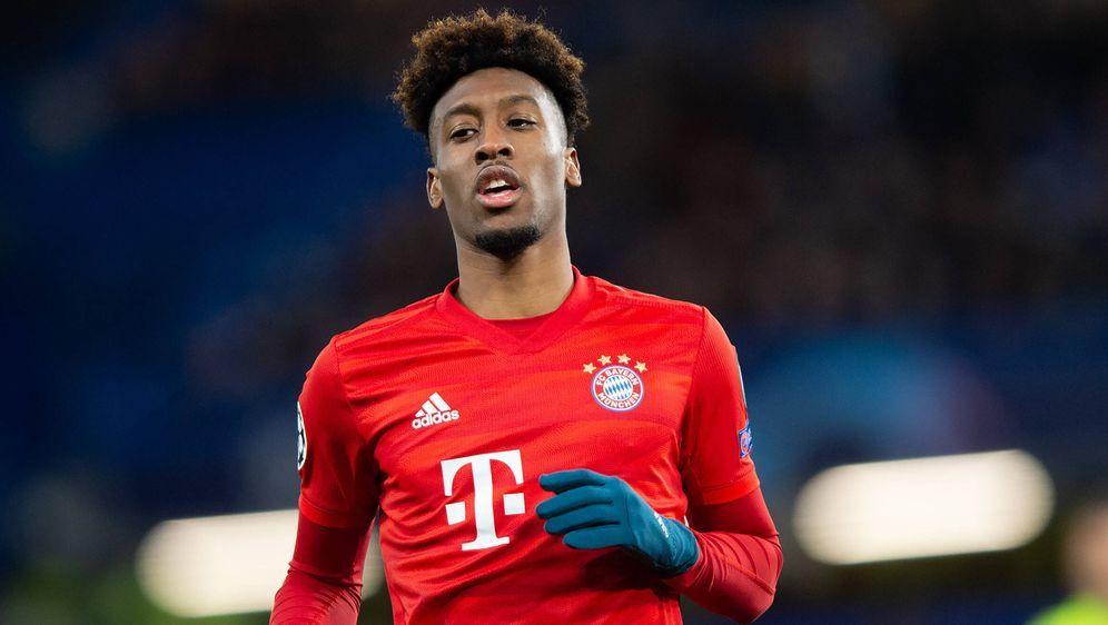 Kingsley Coman wird am Samstag nicht für den FC Bayern München auflaufen - Bildquelle: imago images/Uk Sports Pics Ltd