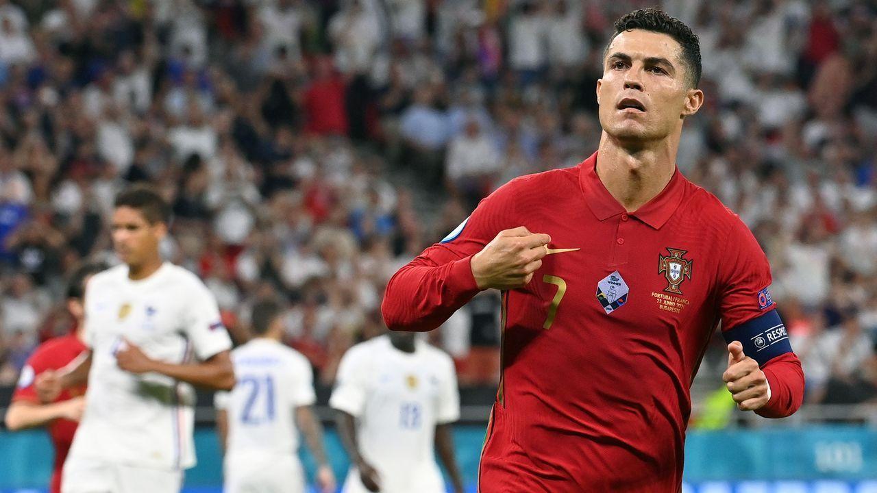 Gewinner: Cristiano Ronaldo trug Portugal einmal mehr alleine - Bildquelle: 2021 Getty Images