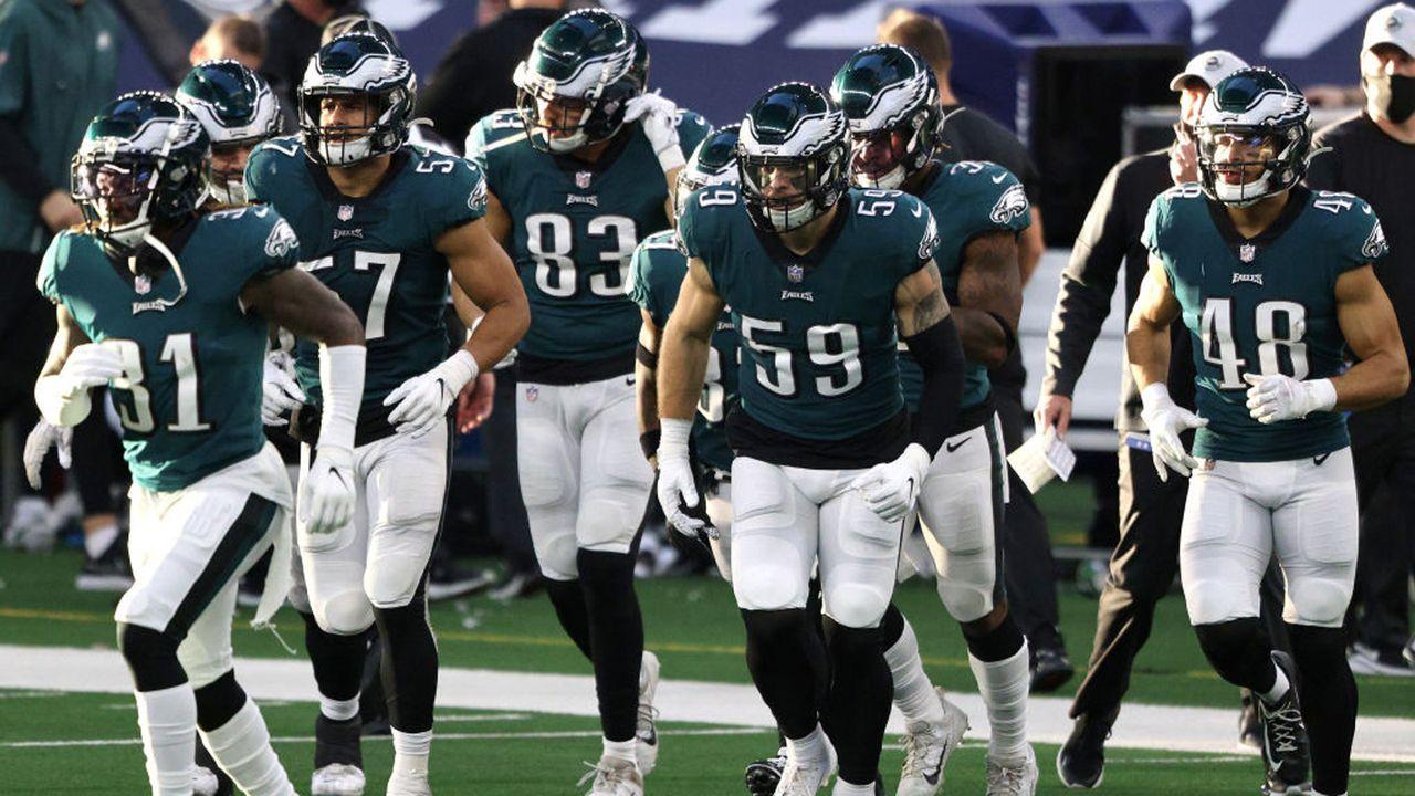 Philadelphia Eagles (4-10-1 zum Zeitpunkt des Ausscheidens) - Bildquelle: 2020 Getty Images