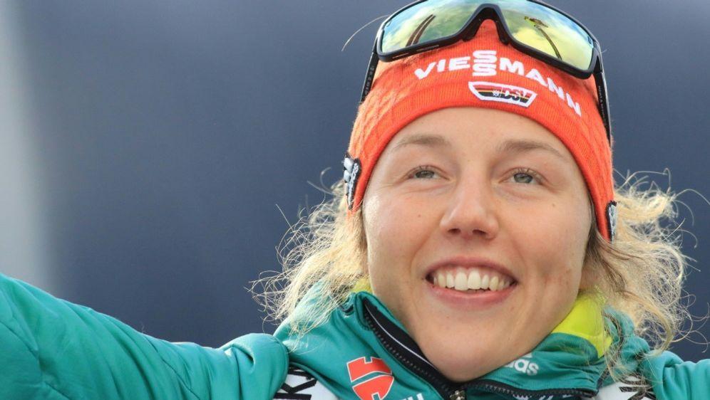 Bayern zeichnet Biathletin Laura Dahlmeier aus - Bildquelle: PIXATHLONPIXATHLONSID