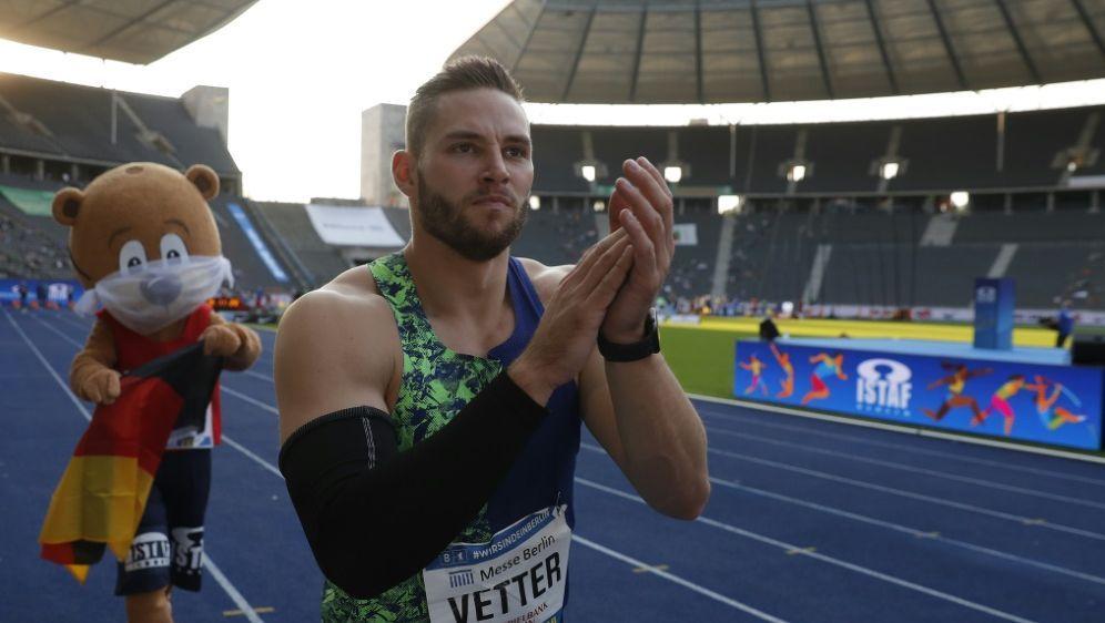 Vetter unter den Finalisten bei Welt-Leichtathleten-Wahl - Bildquelle: AFPSIDODD ANDERSEN