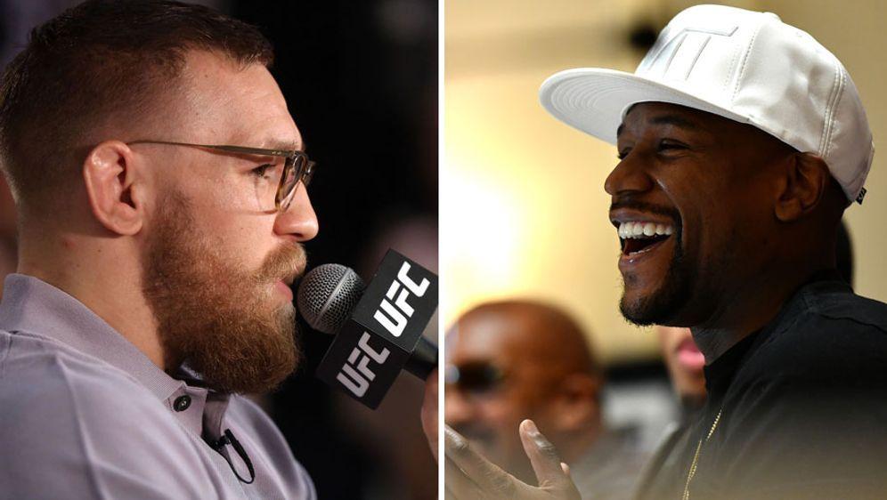 McGregor vs. Mayweather jr. wäre der teuerste PPV-Kampf der Geschichte - Bildquelle: Getty Images