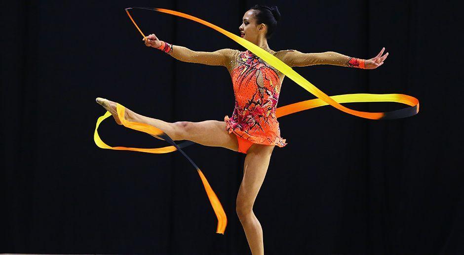 Rhythmische Sportgymnastik - Bildquelle: 2016 Getty Images