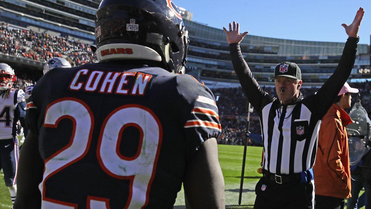 Platz 28: Chicago Bears - Bildquelle: 2016 Getty Images