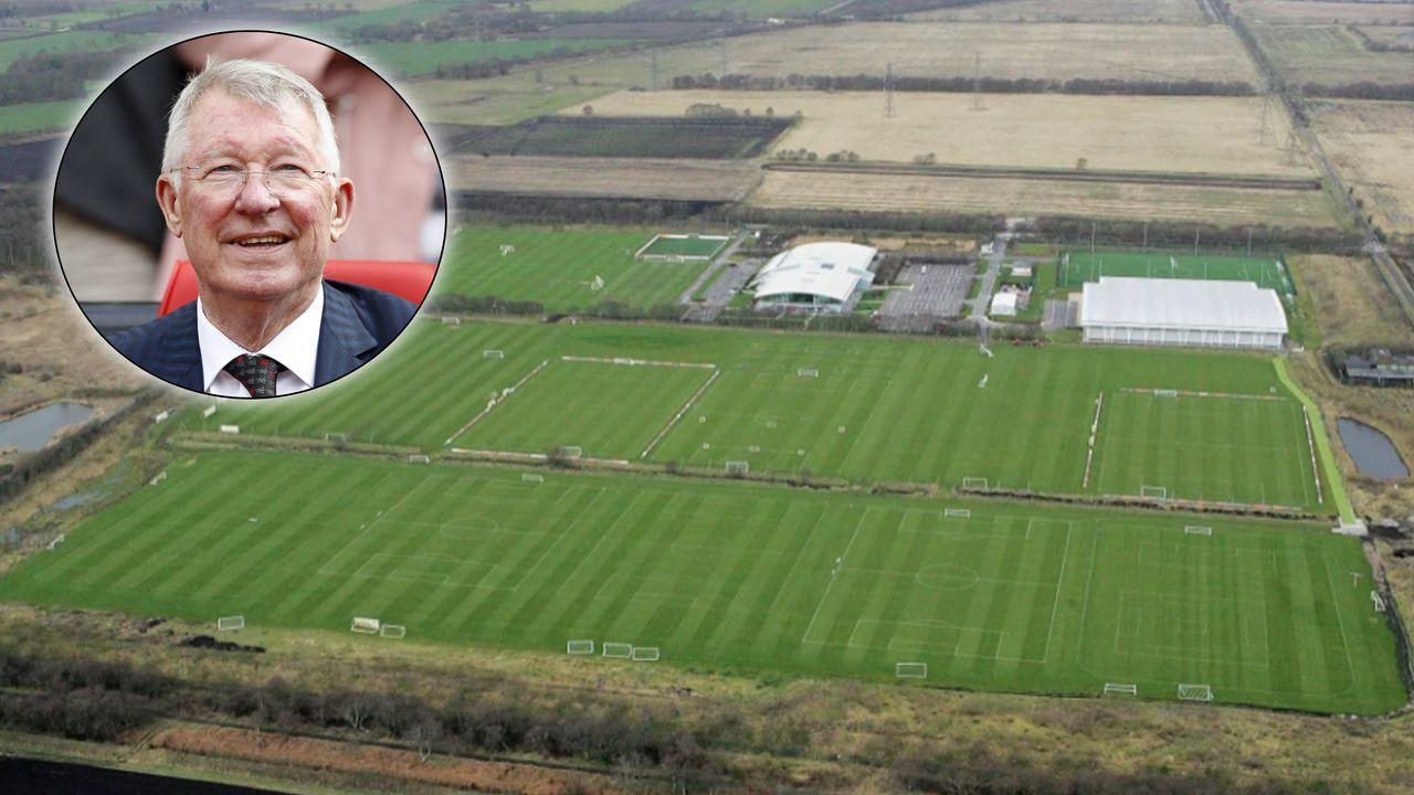 Im Falle eines Krieges: Trainingsgelände von Manchester United wird zur Kartoffelfarm - Bildquelle: Imago/Getty