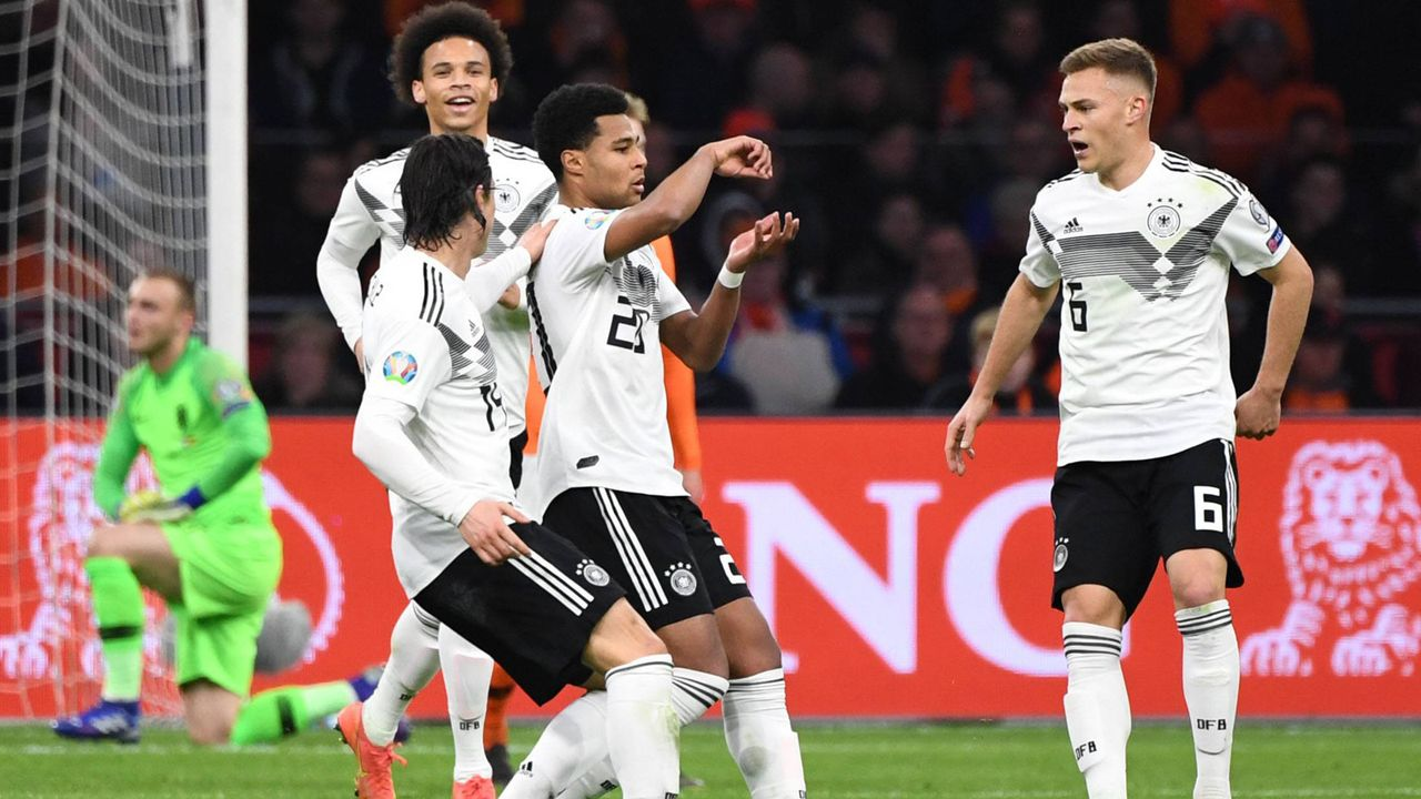 Sieg über die Niederlande: Die Gewinner im deutschen Team  - Bildquelle: imago images / Matthias Koch