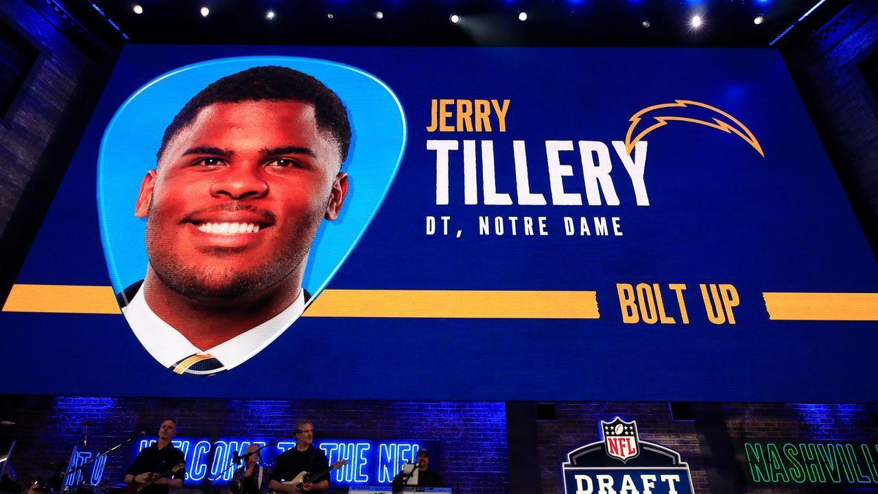 Draft Pick 28: Los Angeles Chargers - Bildquelle: Getty