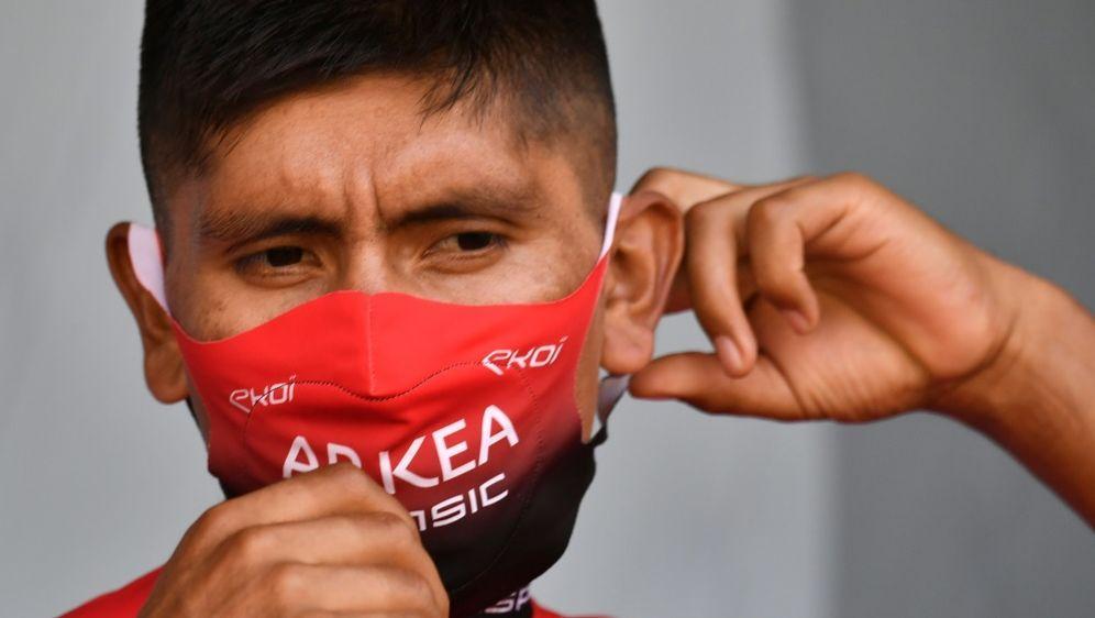 Kapitän des Teams Arkea-Samsic: Nairo Quintana - Bildquelle: AFPSIDMARCO BERTORELLO