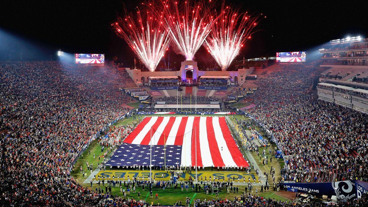 Los Angeles Rams: Los Angeles Memorial Coliseum - Bildquelle: Getty Images