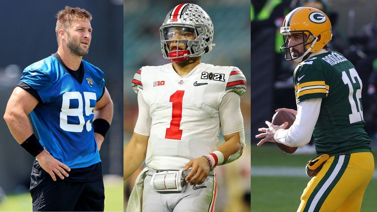 Tebow-Mania und Rookie-Hype: Die meisterverkauften NFL-Trikots 2021 - Bildquelle: getty