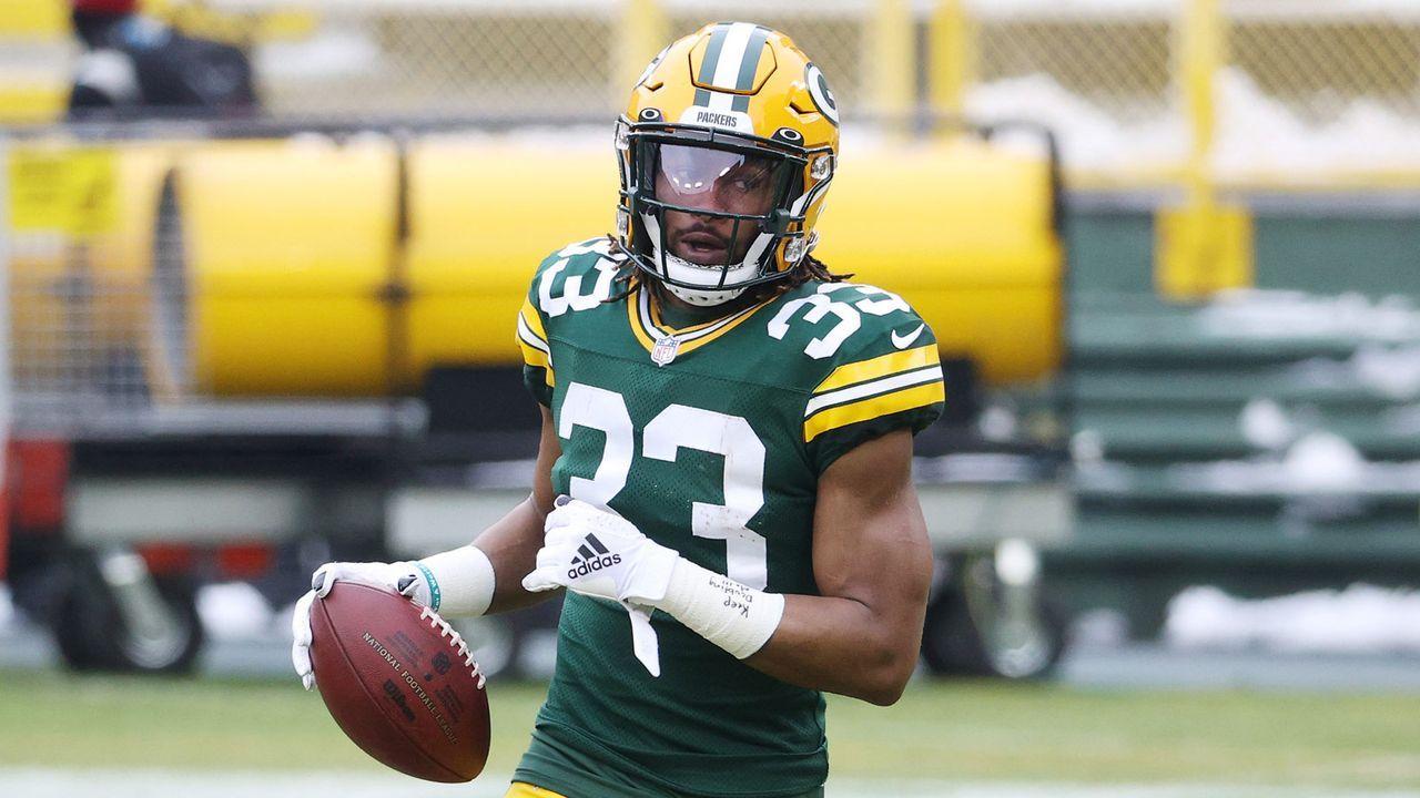 Aaron Jones (Green Bay Packers) - Bildquelle: 2021 Getty Images