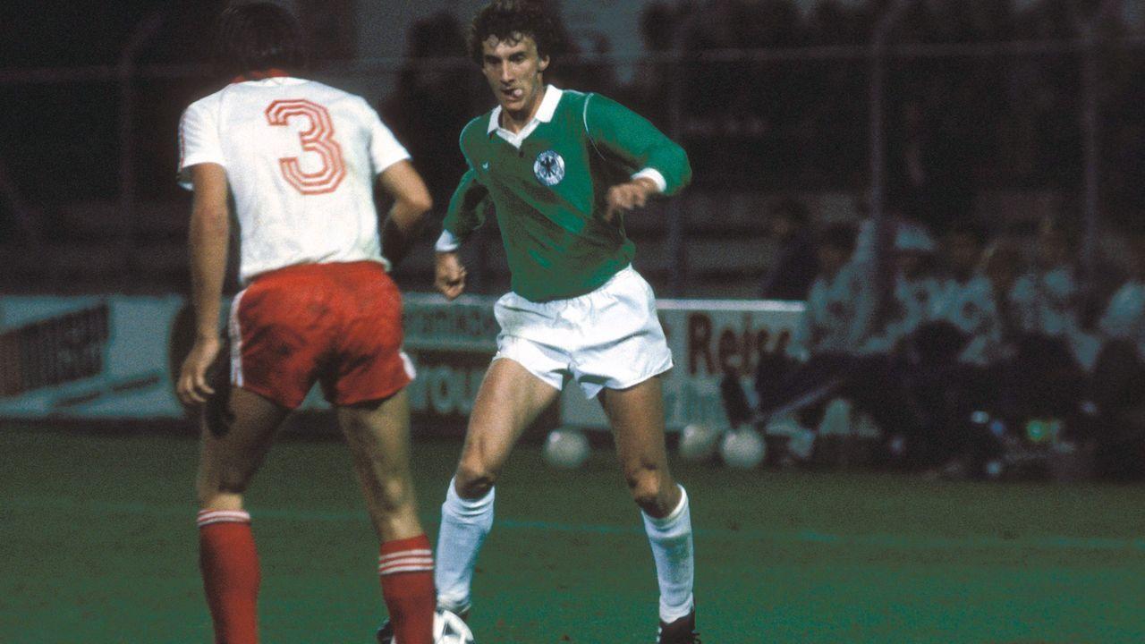 Erstes U21-Länderspiel erst 1979 - Bildquelle: Imago