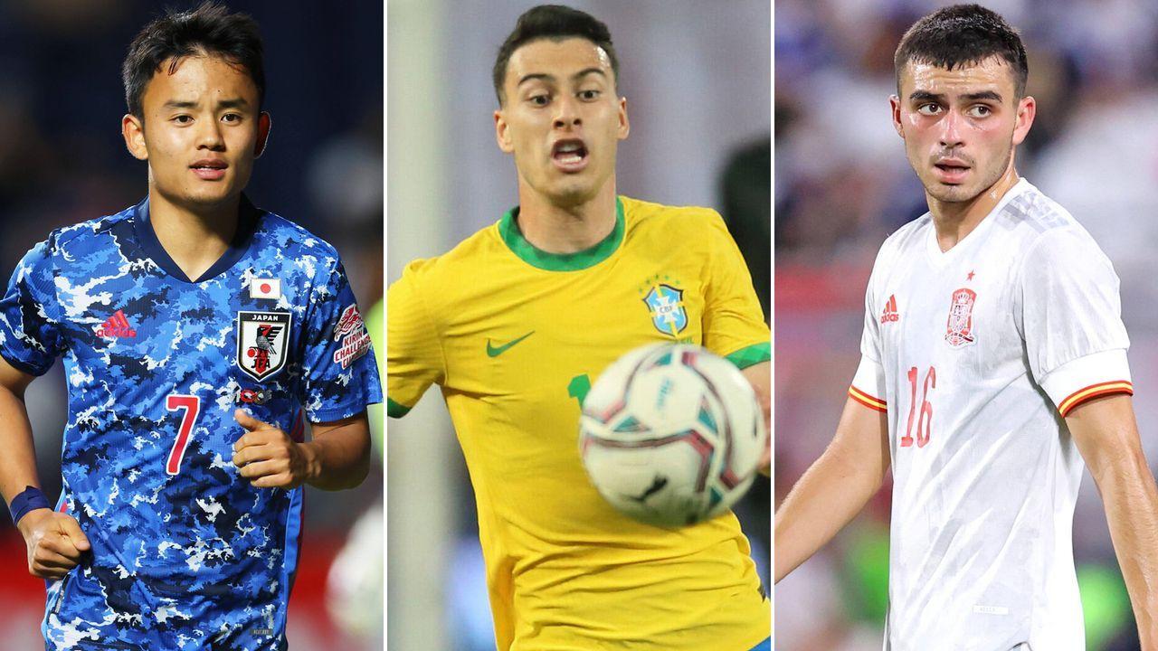 Das sind die größten Fußball-Talente bei Olympia  - Bildquelle: imago